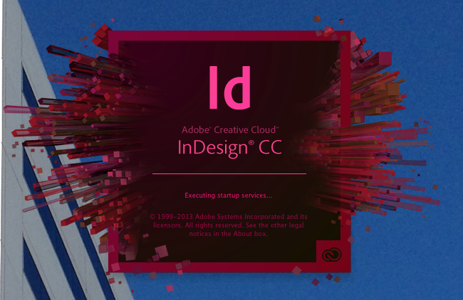 InDesign Splash Screen